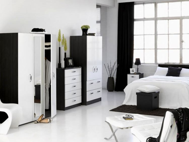 White Furniture Decor Bedroom Image Of Stylish Modern White Bedroom  with White Bedroom Furniture Ideas