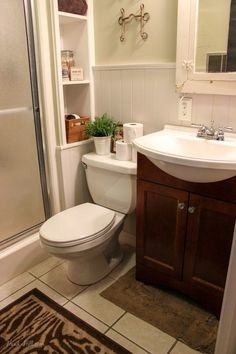 bathroom ideas on a