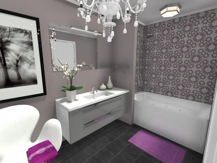bathroom accent  tile wall