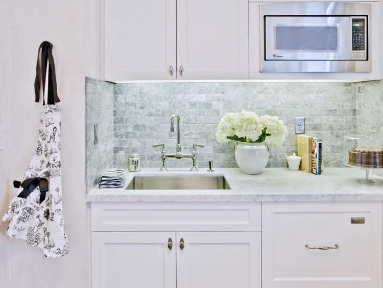Black and White Kitchen Backsplash Tile Home Design and Decor Along  with Backsplash Tile Ideas Kitchen