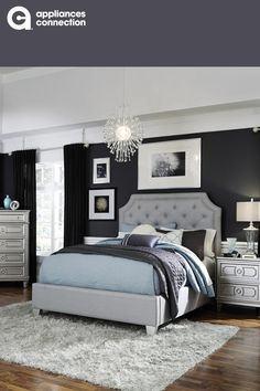 Milo Italia BR280TPBDMN Calderon Twin Bedroom Sets