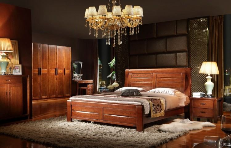 Amish Bedroom USA Made USA Made walnut maple bedroom set Bedroom Build in  America USA