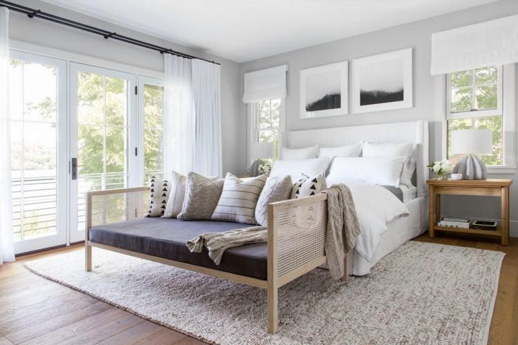 bedrooms with wood floors and rugs dark wood floor bedroom animal print rugs  bedroom traditional with
