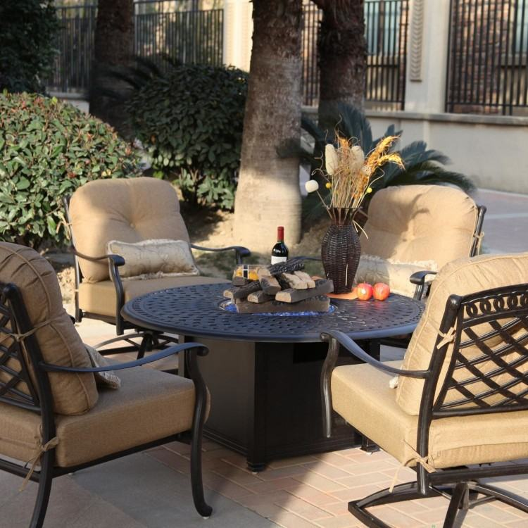 9 Piece Cast Aluminum Outdoor Dining Set 9 Piece Extendable Outdoor Dining  Set By Urban Furnishings Furniture Of America Ames Espresso 9 Piece Outdoor