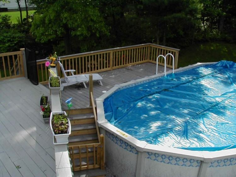Full Size of Decoration Above Ground Wooden Swimming Pools Privacy Fence  Screen Ideas Square Above Ground