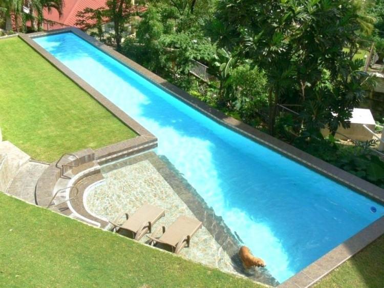 Trinidad Custom  Contemporary Pool Design