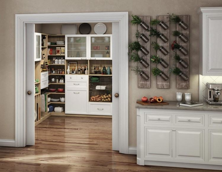 This way, you can integrate calculated niches into the customised feature  wall to