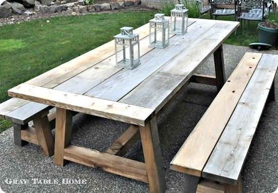 A few months back I featured an article on making your own designer patio  furniture