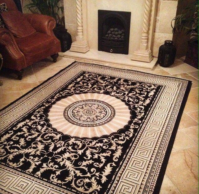 Versace rug handmade