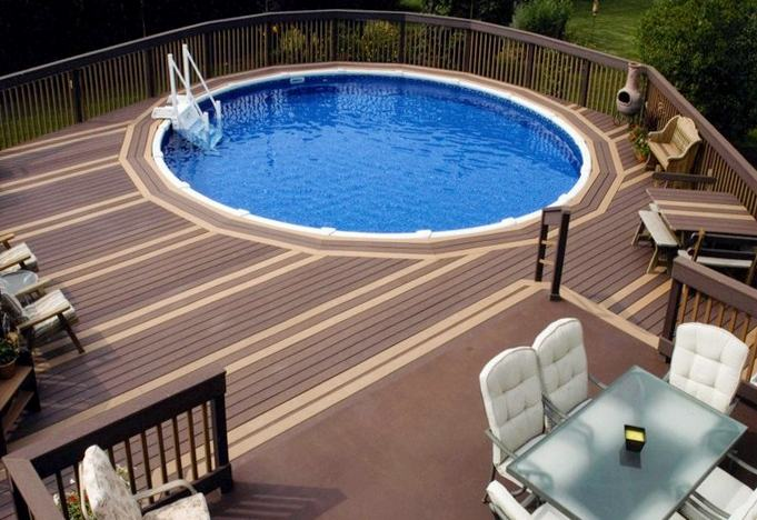pool decks for above ground