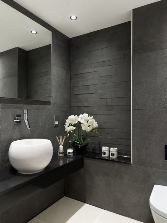 dark modern bathroom dark bathroom ideas
