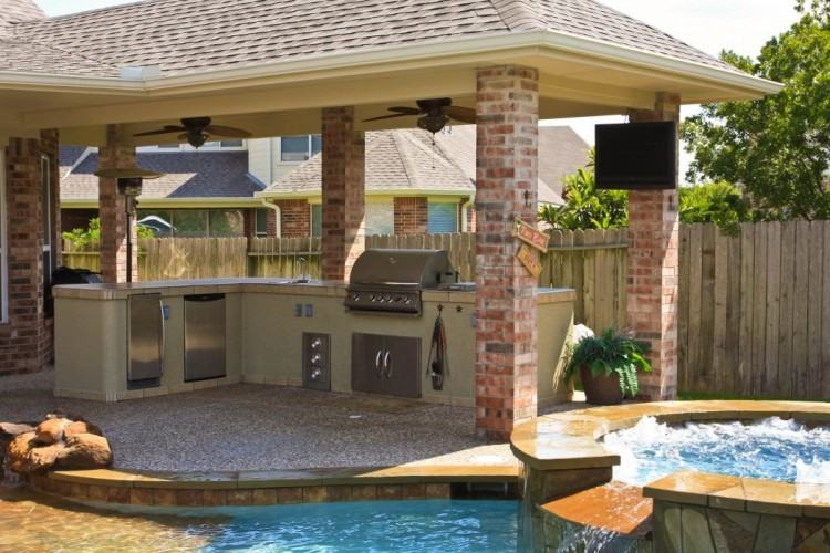Pergola or Extended Roof Overhang