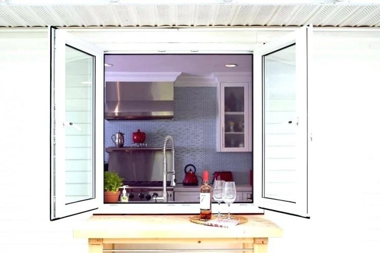Kitchen Pass Thru Through Window Dining Ideas Parsons Ks Menu Shutters