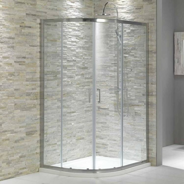 Walk In Tile Showers Ideas Incredible Cool Doorless Shower Bathroom Cheap  Large Size Of With Intended For 15 | Winduprocketapps