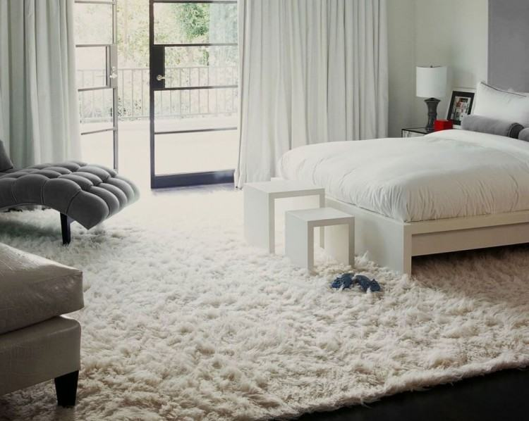 Child Bedroom Shaggy Carpet For Living Room Solid Decor Rug Non Slip  Carpets Bedroom Long Plush Door Floor Ma Woolly Blanket Big Fuzzy Blanket  Warm Blankets