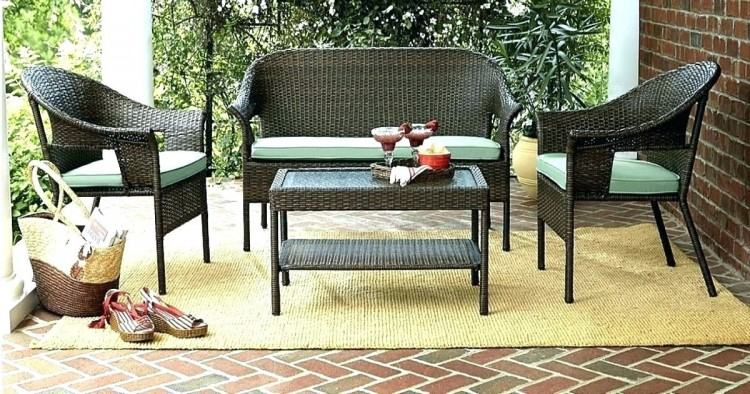 Martha Stewart Collections Patio Table with Chairs and Umbrella