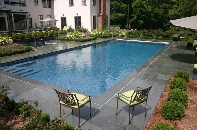 pool yard designs backyard modern