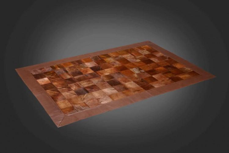 cowhide runner rug