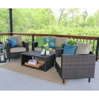 black and white patio furniture
