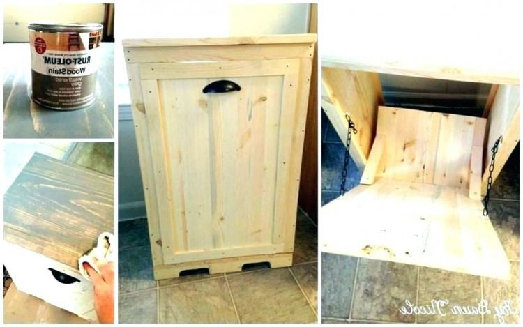 wooden trash cans for kitchen wooden trash can kitchen decorative wood  garbage cans for best ideas