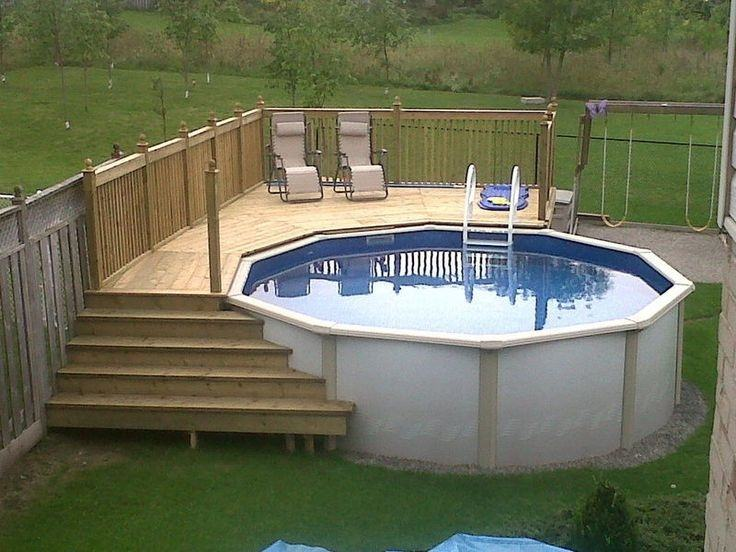 beautiful above ground pools
