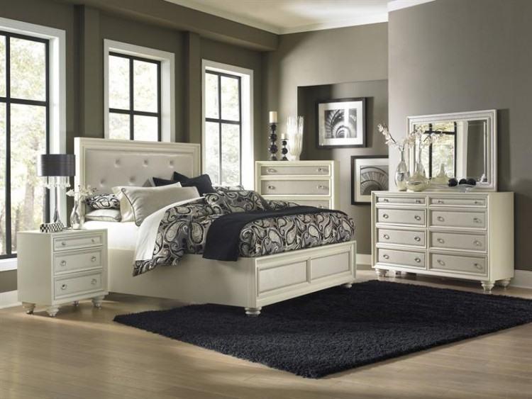 Duleek High Gloss Cream Bedrooms