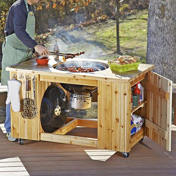 Picture of Make Your Own Wood Patio Furniture