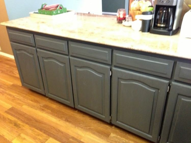 After Remodel Small Kitchen Cabinet With White Painting Kitchen Cabinets  With Chalk Paint And Marble Countertop With Backsplash Plus Mounted  Refrigerator