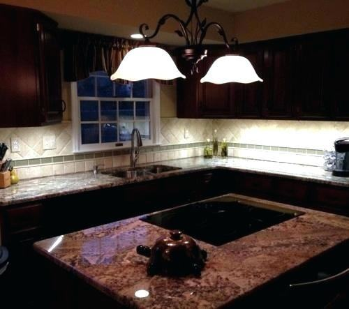 kitchen surface lighting