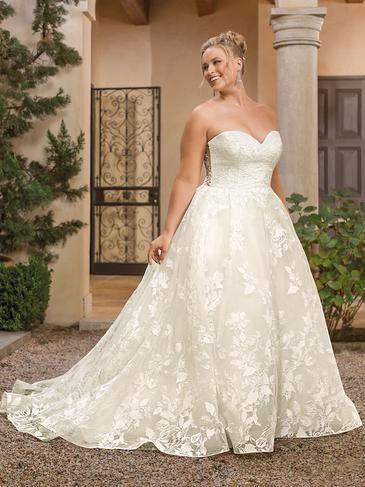 Caekee Plus Size Wedding Dress T801525328852