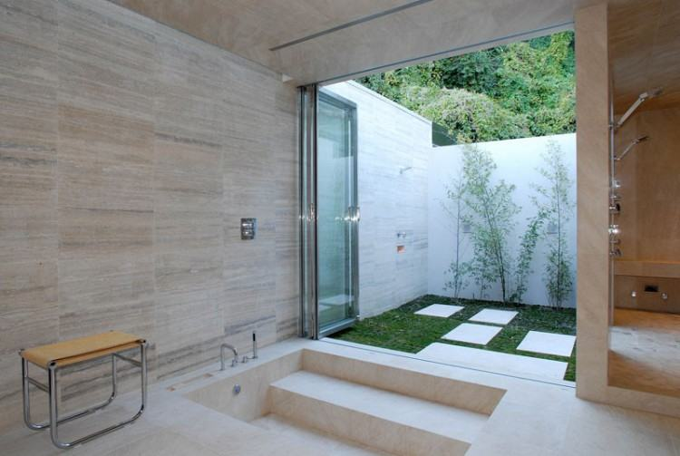 how to build outside shower