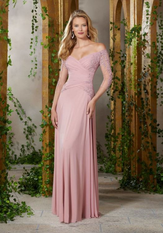 Dresses Party Evening Sheer Crew Neck Arabic Short Lace Long Sleeves Wedding  Gowns Illusion African Prom Dresses Celebrity Party Gowns Evening Dresses