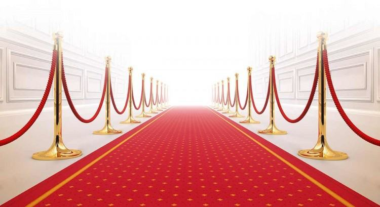 Red Carpet Arrival for movie premiere