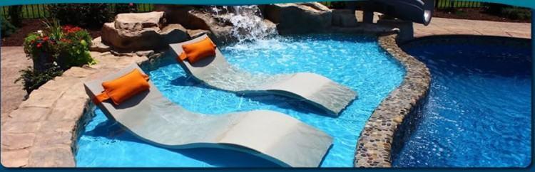 large custom fiberglass pool designs Free form fiberglass pool design  Oswego, IL