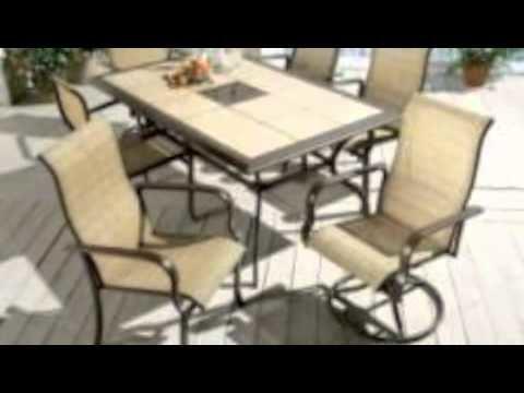 belleville patio furniture tile top patio coffee table lowes belleville  patio furniture