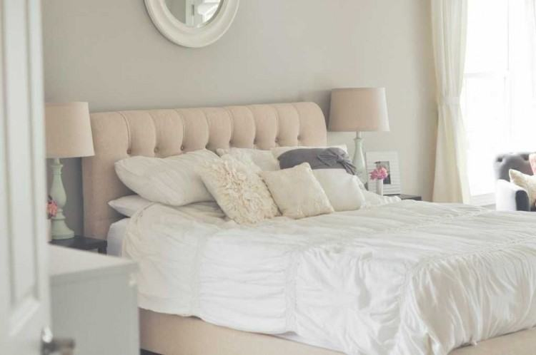 white wood bedroom