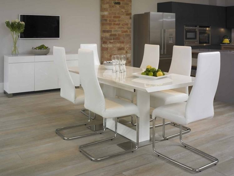 Medium Size of Dark Timber Table White Chairs Black And High Gloss  Dining Wood Room With