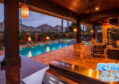| Awesome Inground Pool Designs |  Backyard, Pool landscaping, Pool designs