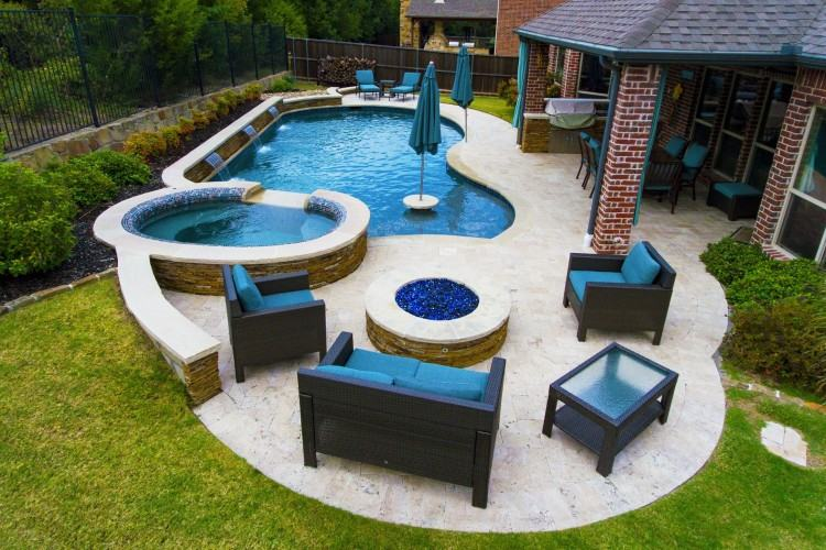 Custom Swimming Pool Design Castle Hills, Lewisville Texas | by One  Specialty Outdoor Living