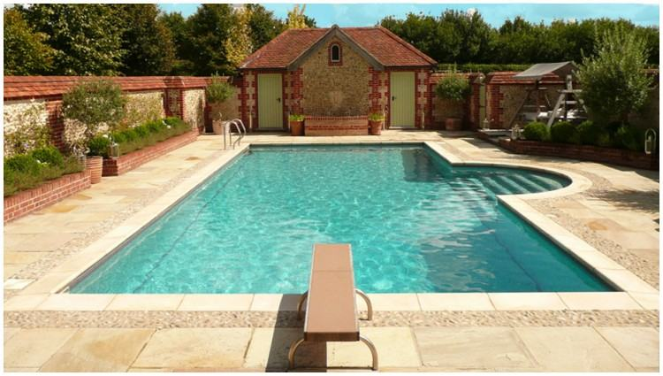 public swimming pool designs outdoor landscaping ideas pictures