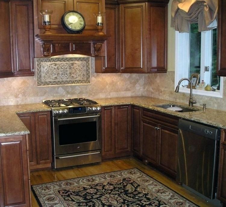 natural stone kitchen backsplash pebble tile natural stone backsplash images