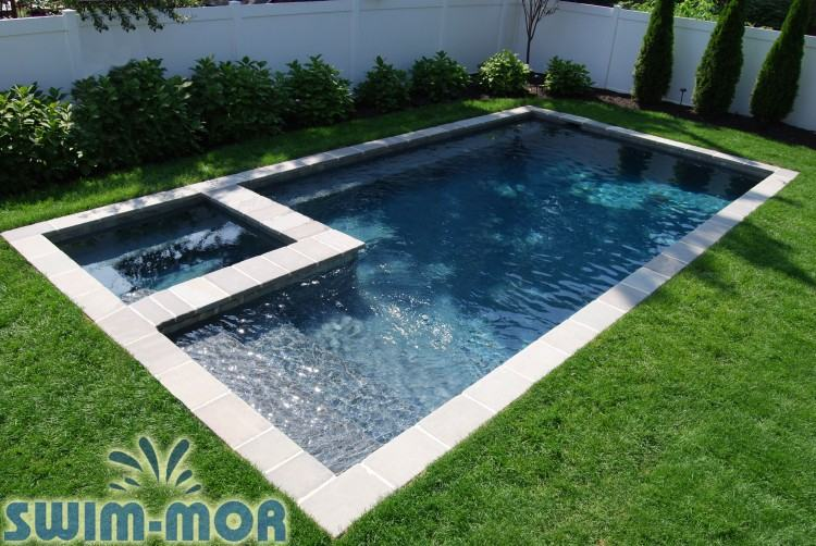 small rectangle pool small gular pool designs with spa gle square pools  design ideas patio gular