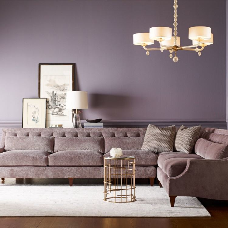 Smaller sectionals offer lots of comfy seating for small spaces, while  larger ones are best for open floor plans