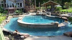 Custom Pool, Pool Design Lightfoot Landscapes, Inc