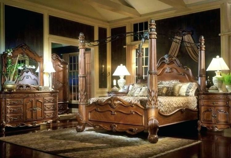 ashley furniture canopy bedroom sets
