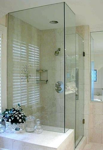 Fancy Bathroom Shower Doors Frameless Spray Panel With Door