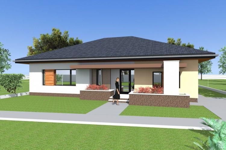 model  house model