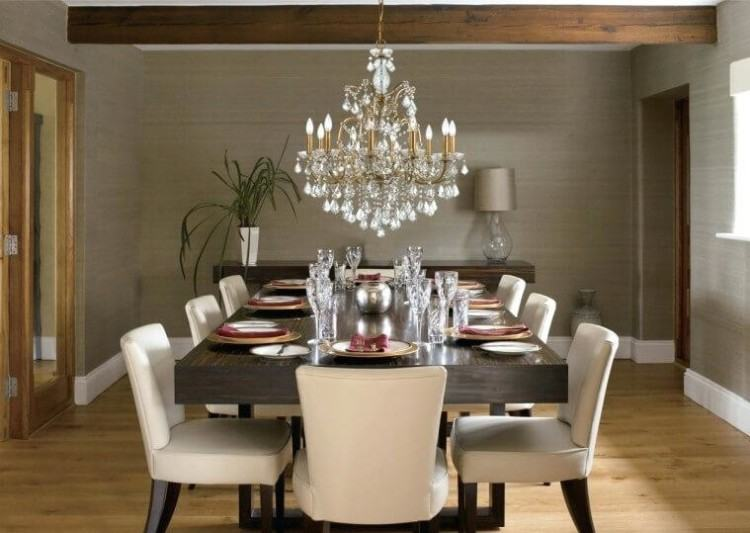 Full Size of Rectangular Crystal Chandelier Dining Room Table Round  Farmhouse Rectangle C Remarkable Large Light
