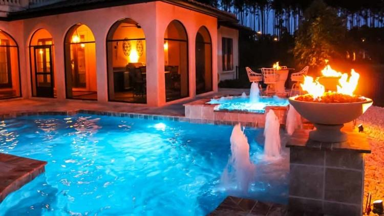 Designs Featuring Pizza Ovens Fireplaces Award Winning Patio Backyard  Pool Pools Outdoor Kitchens Custom Rustic