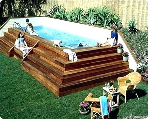 Small Above Ground Pool Deck Designs Swimming Pool Backyard Curve Above Ground  Pool With Concrete Pool Above Ground Pool Deck Free Small Above Ground Pool